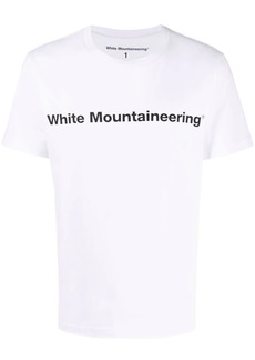 White Mountaineering logo-print T-shirt