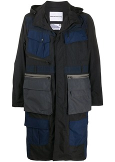 White Mountaineering Luggage Pocket parka