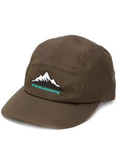 White Mountaineering mountain embroidery baseball cap