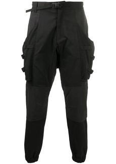 White Mountaineering panelled tapered trousers