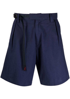 White Mountaineering x Gramicci belted shorts