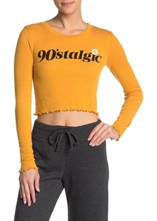 Wildfox 90'Stalgic Ren Long Sleeve T-Shirt