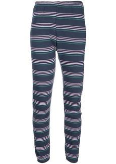 Wildfox Cheri striped track pants