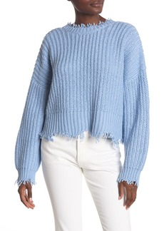 Wildfox Deep V-Back Palmetto Sweater