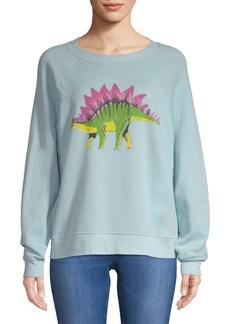 Wildfox Dinosaur Graphic Sweatshirt
