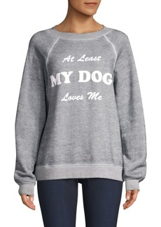 Wildfox Dog Loves Me Sweatshirt