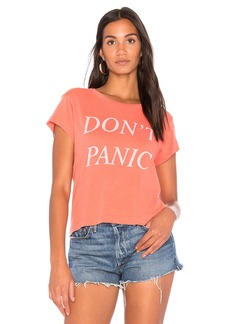 Wildfox Don't Panic Tee