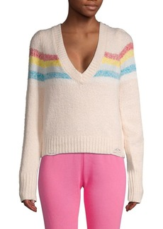 Wildfox Dreamer Striped Pullover