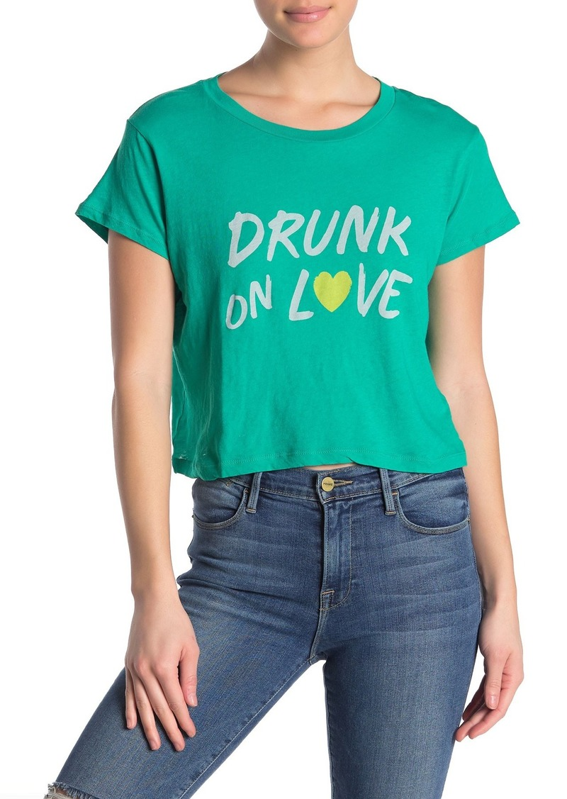 Wildfox Drunk On Love Baby Tee