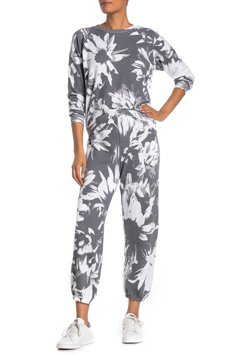 Wildfox Easy Optic Daisies Sweatpants