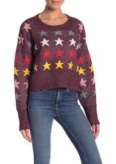 Wildfox Elektra Rainbow Star Sweater