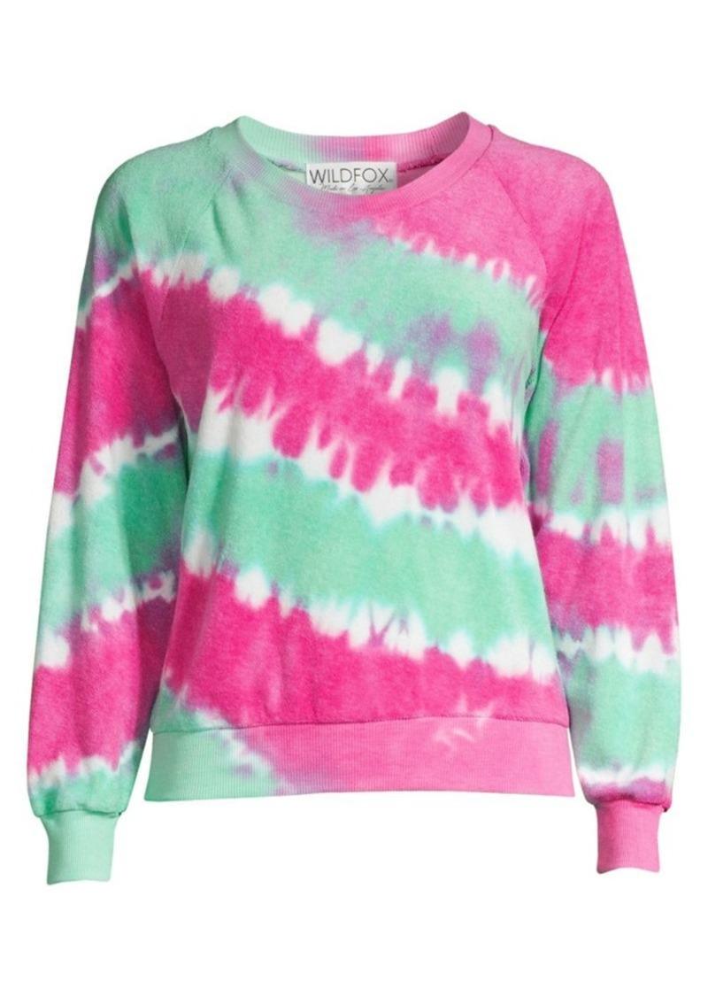 Wildfox Fiona Tie-Dye Sweatshirt