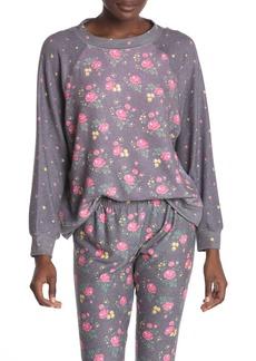 Wildfox Floral Print Sweatshirt