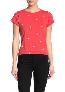 Wildfox Football Star Printed T-Shirt