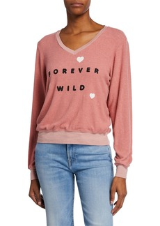 Wildfox Forever Wild Baggy Beach Jumper