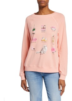 Wildfox Girls Night In Sommers Sweater