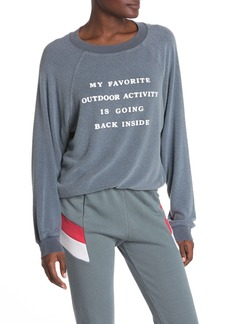Wildfox Going Back Inside Sweatshirt
