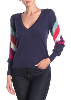 Wildfox Grand Stripe Prism Sweater