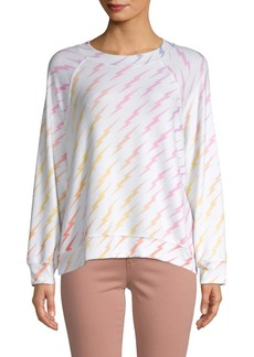 Wildfox Graphic Long-Sleeve Pullover