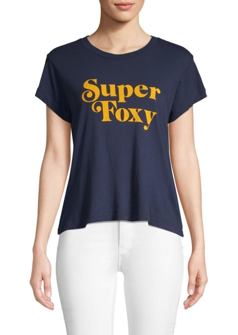 Wildfox Graphic Pullover Tee