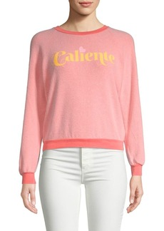 Wildfox Graphic Raglan-Sleeve Sweatshirt