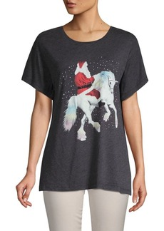 Wildfox Graphic Short-Sleeve Tee