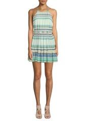 Wildfox Hanalei Striped Halter Dress
