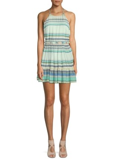 Wildfox Hanalei Striped Halter Dress