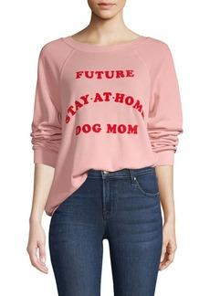 Wildfox Home Dog Mom Sweatshirt