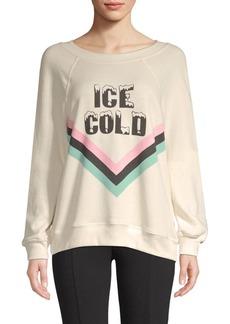 Wildfox Ice Cold Graphic Sweatshirt