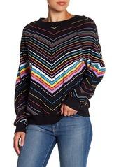 Wildfox Island Chevron Striped Sweater