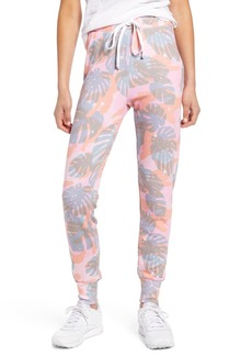 Wildfox Jack Tropical Camo Print Jogger Pants