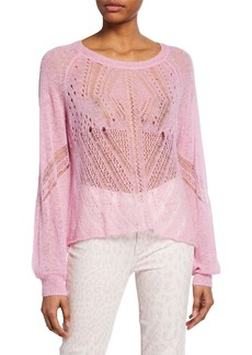 Wildfox Jackie Alpaca Pullover Sweater