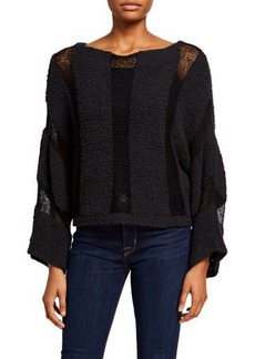 Wildfox Kara Bold Stripe Sweater