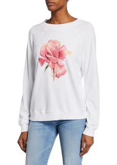 Wildfox La Vita Sommers Flower-Print Sweater