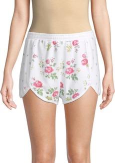 Wildfox Lane Floral-Print Shorts