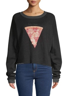 Wildfox My Date Raglan-Sleeve Sweatshirt