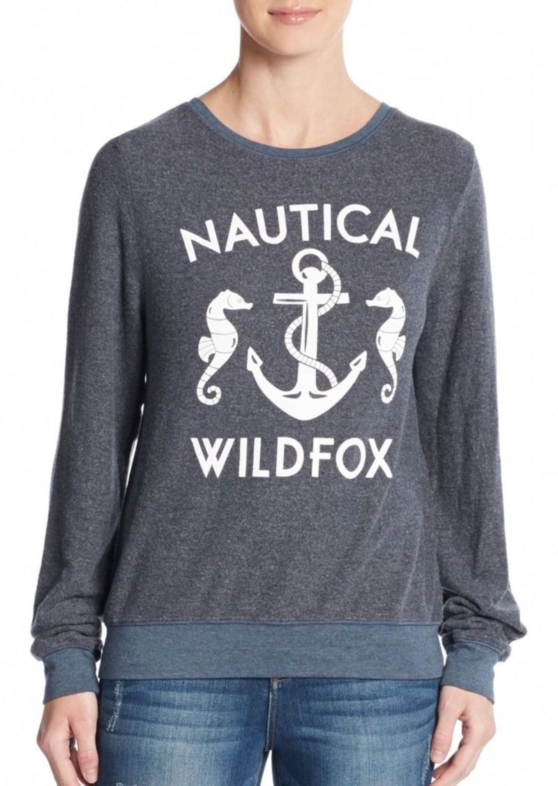 Nautical Wildfox Pullover