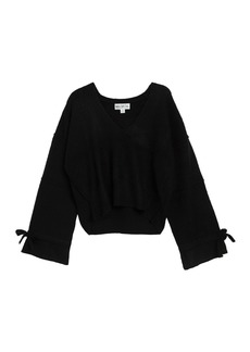 Wildfox Oracle V-Neck Sweater