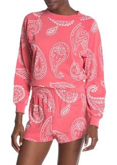 Wildfox Paisley Print Sweatshirt