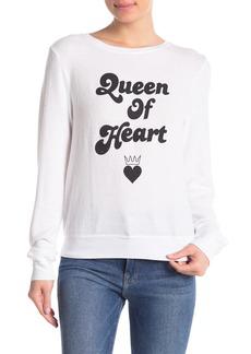 Wildfox Queen of Heart Baggy Sweater