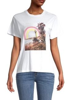 Wildfox Rainbow Coast T-Shirt