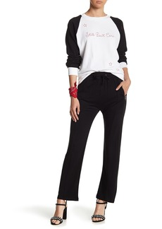 Wildfox Renegade Front Zip Cropped Pants