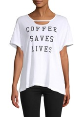 Wildfox Rivo Coffee Saves Tee