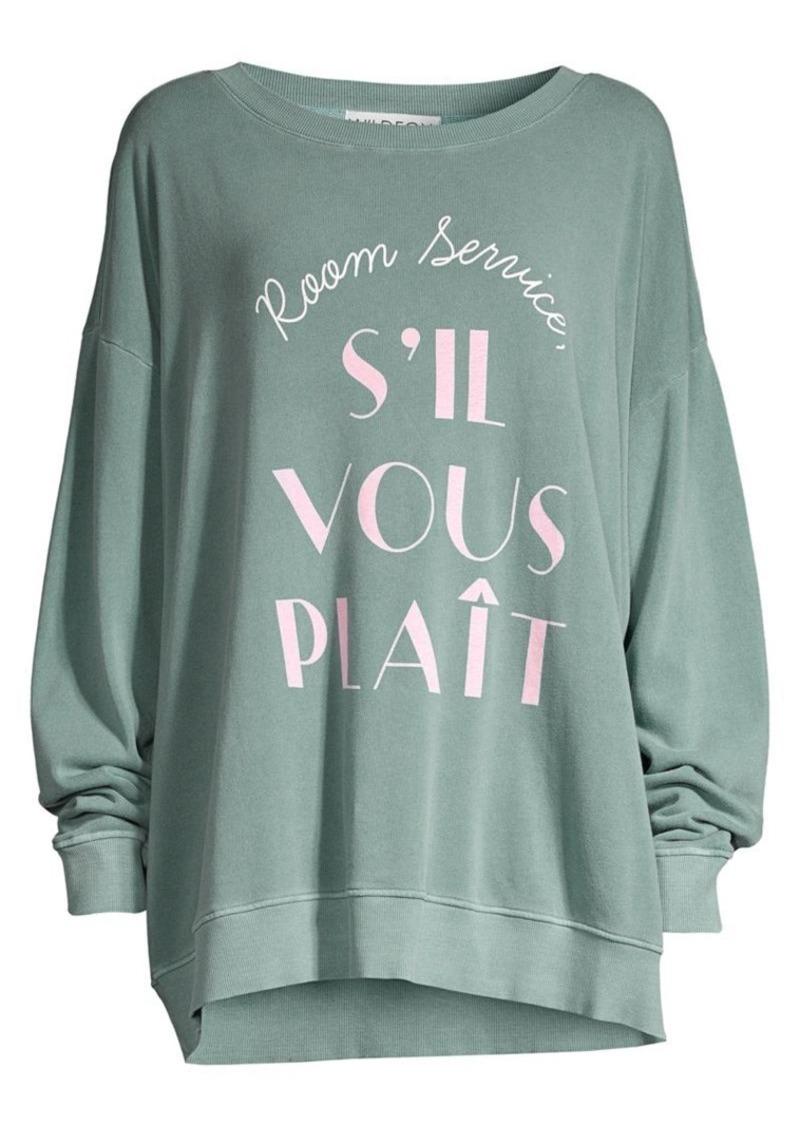 Wildfox Room Service Sweatshirt