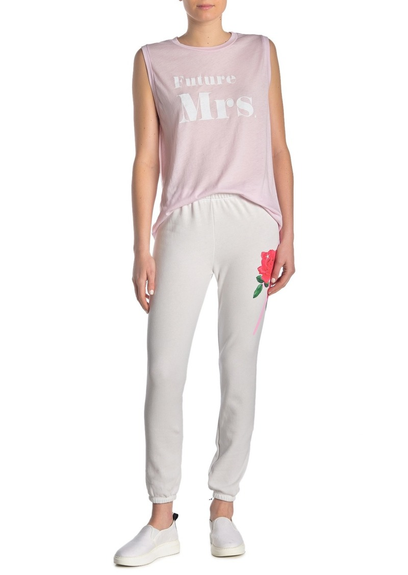 Wildfox Rose Bolt Knox Pants