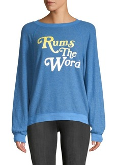 Wildfox Rums The Word Sweatshirt