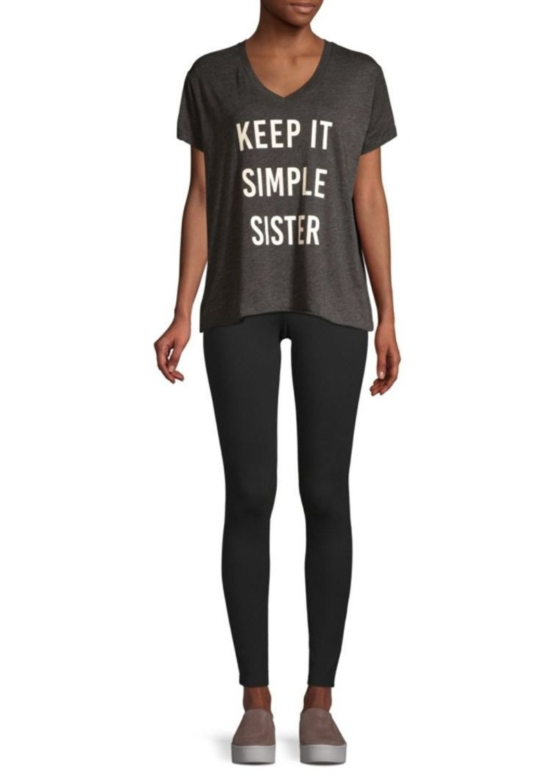 Wildfox Simple Sister Romeo Tee