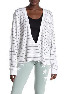 Wildfox Simple Stripe Palmetto T-Shirt