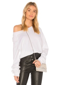 Wildfox Solid Cropped Sweatshirt